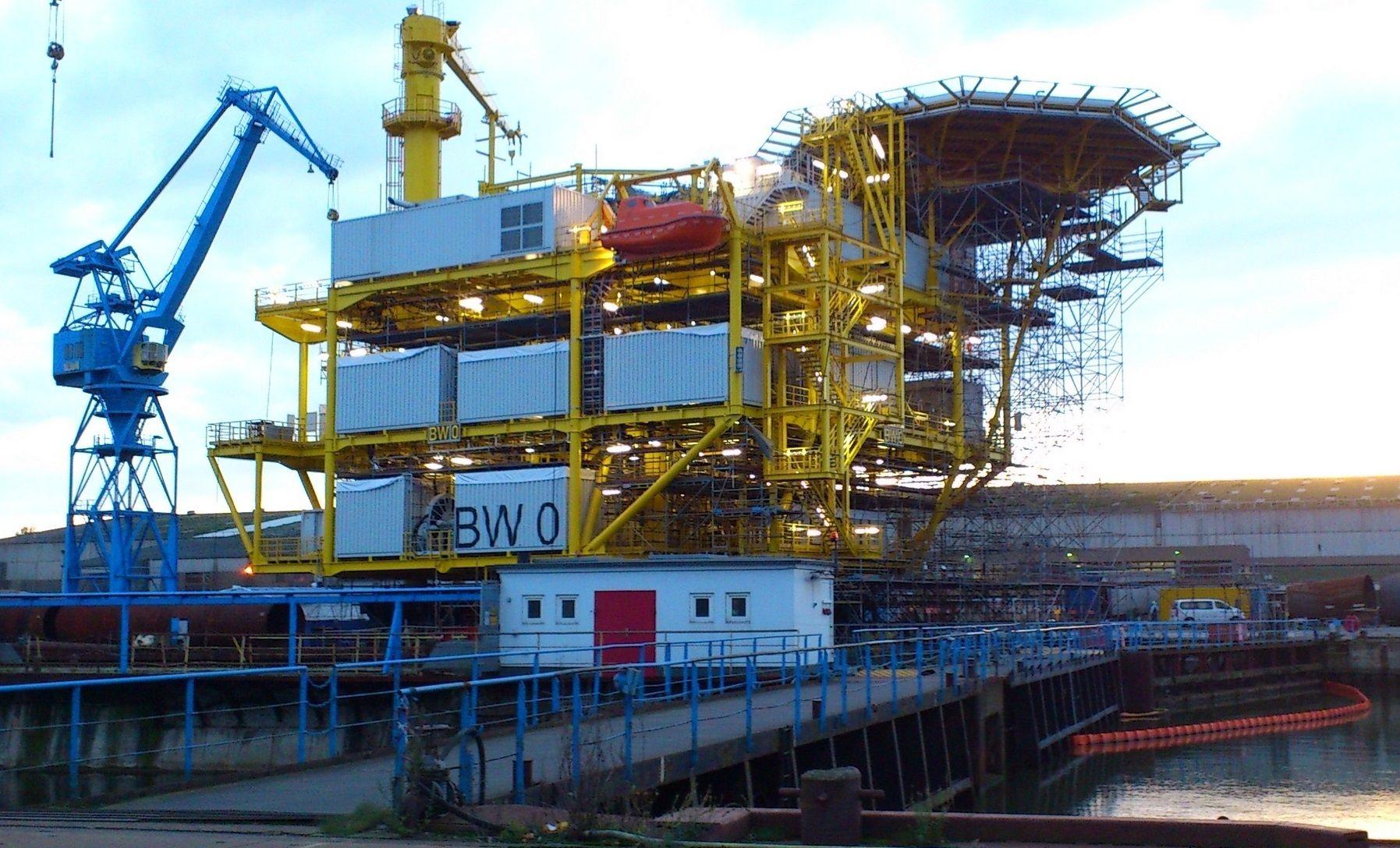 Germany North Sea Borkum West Windfarm 2 (1)