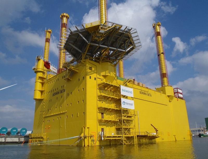 Germany North Sea Borwin Beta Windfarm 2