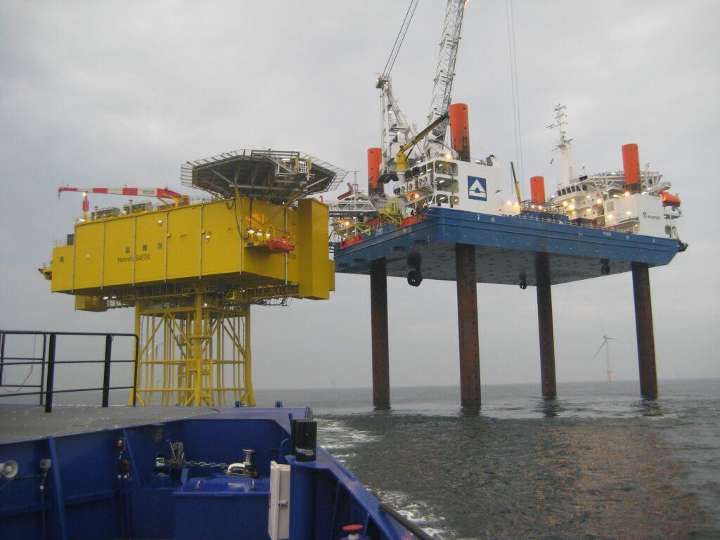 Germany North Sea Meerwind Windfarm 1