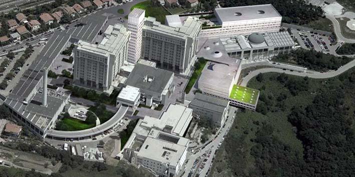 italia-trieste ospedale Cattinara - eliporto 2